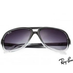 Ray Ban RB4162 Cats 5000 Black Sunglasses